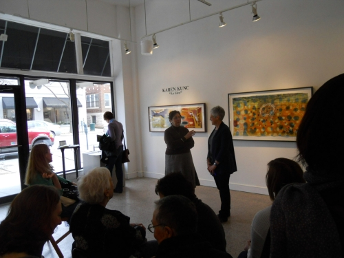 Nicki's Central West End Guide Art & Architecture Events, Sightings Handmade  Therman Statom Ray Materson Michael Aaron McAllister Mary Engelbreit Karen Kunc Eva Isaksen Duane Reed Gallery Carolyn Miles Atrium Gallery