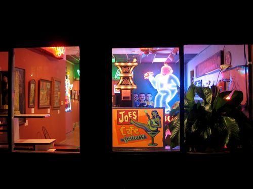 Nicki's Central West End Guide Art & Architecture Books, Dance, Music, Theater  Thelma Blumberg Joe's Cafe Gallery Joe's Cafe Joe Moskus Jack Parker Gaslight Square Frank Moskus Bill Christman Acoustik Element